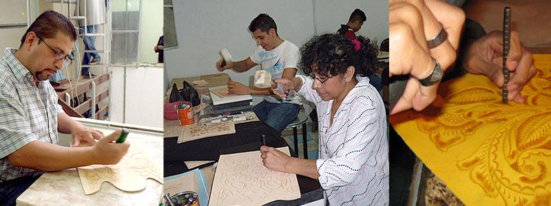 メキシコ職人手彫り彫刻